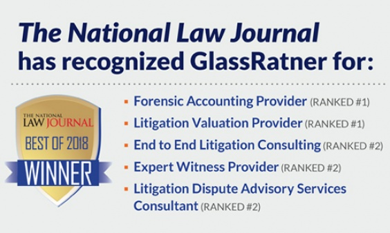 GlassRatner Recognized In Several